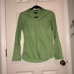 Lime green Women's button down